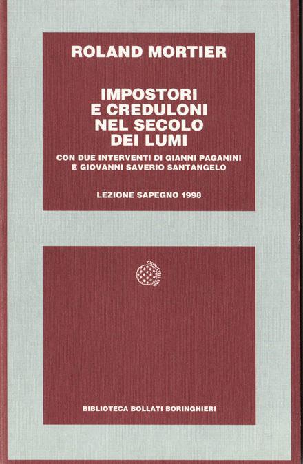 Giornata Sapegno 1998: Lezione magistrale di Roland Mortier
