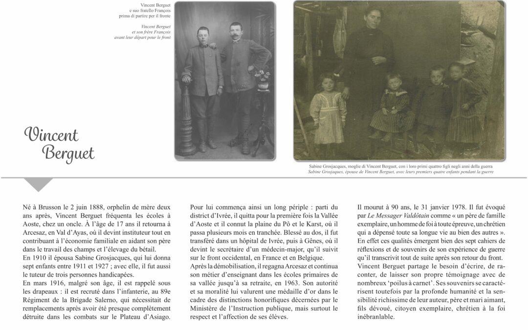 La Grande Guerra di Vincent Berguet