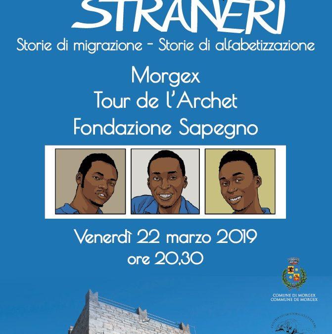 Presentazione del progetto Stran(i)eri
