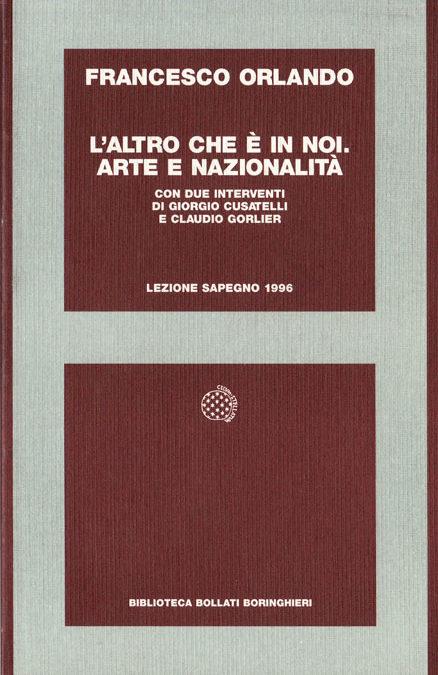 Giornata Sapegno 1996: Lezione magistrale di Francesco Orlando