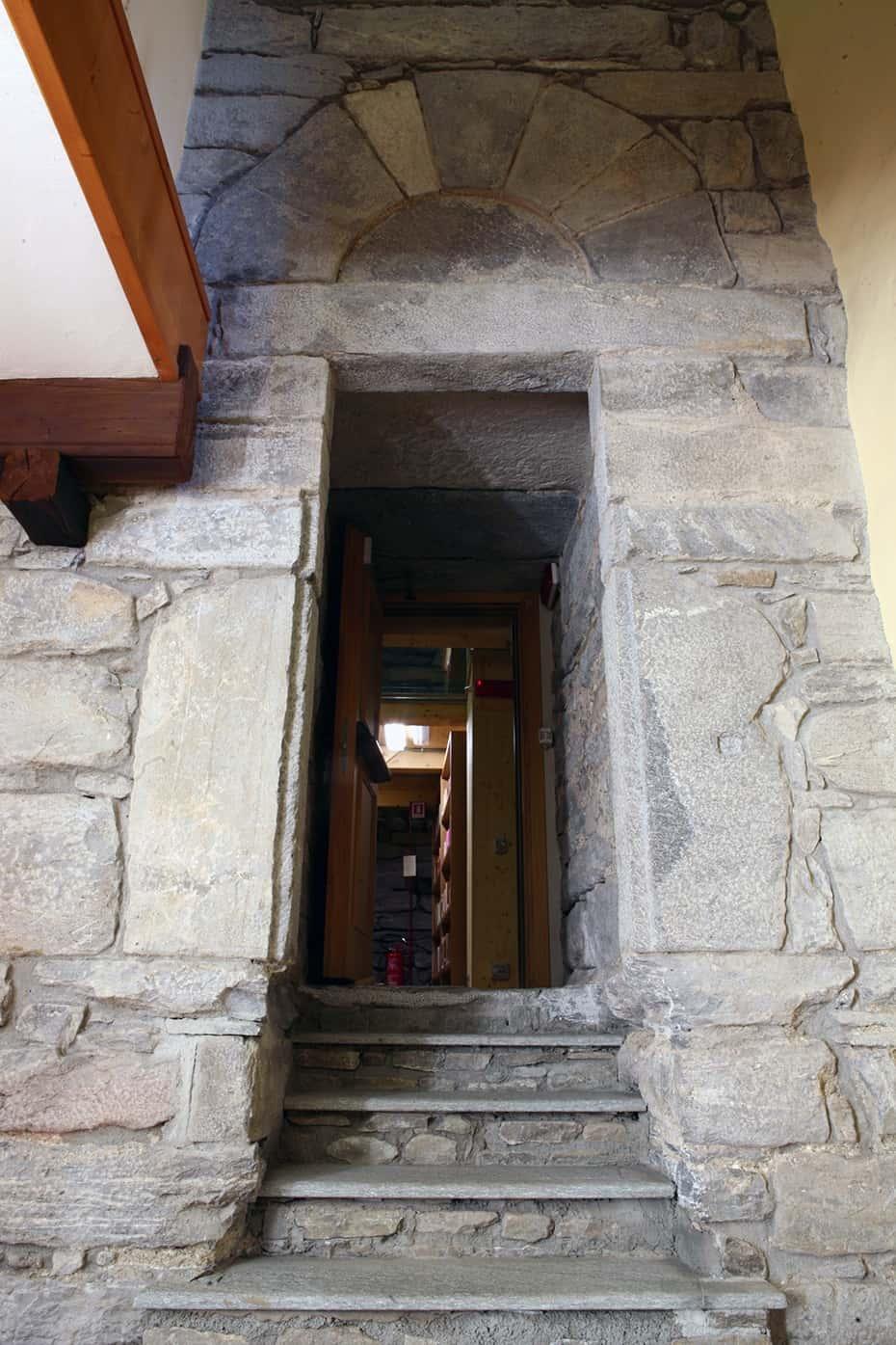 accesso torre
